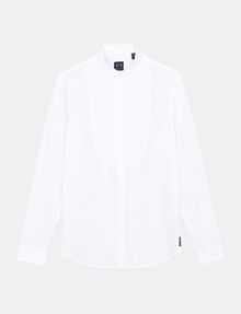 ARMANI EXCHANGE BIB-FRONT REGULAR-FIT SHIRT Long sleeve shirt Man b