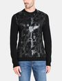 ARMANI EXCHANGE HIGH SHINE ALLOVER AX SWEATER Pullover Man f
