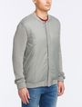 ARMANI EXCHANGE PUFFER-FRONT SWEATER JACKET Layering Man d