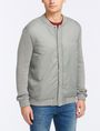 ARMANI EXCHANGE PUFFER-FRONT SWEATER JACKET Layering Man f