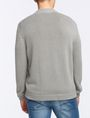 ARMANI EXCHANGE PUFFER-FRONT SWEATER JACKET Layering Man r