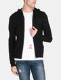 ARMANI EXCHANGE CONTRAST BAND SWEATER JACKET Layering Man f
