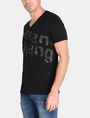 ARMANI EXCHANGE SPLINTERED LOGO V-NECK Logo T-shirt Man d