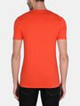 ARMANI EXCHANGE SPLINTERED LOGO V-NECK Logo T-shirt Man r