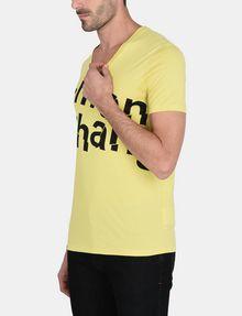 ARMANI EXCHANGE SPLINTERED LOGO V-NECK Logo T-shirt Man d