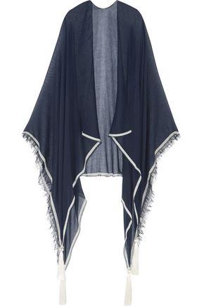 CHLOÉ Tasseled voile scarf