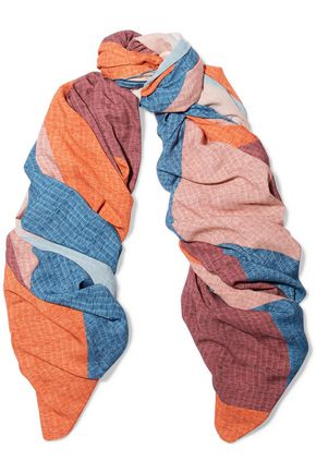 VIX Ananda printed knitted scarf