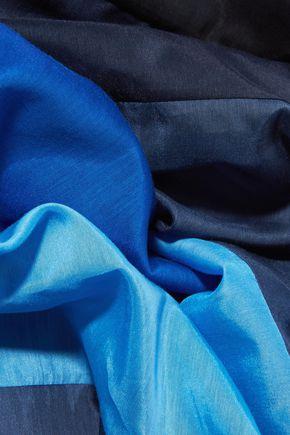 DIANE VON FURSTENBERG Printed cotton and silk-blend scarf
