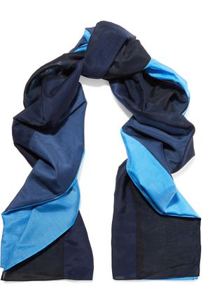 DIANE VON FURSTENBERG Printed cotton and silk-blend scarf