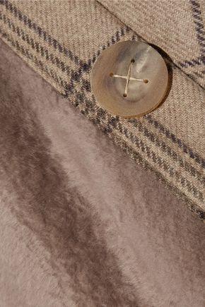 KARL DONOGHUE Toscana lambskin and wool scarf