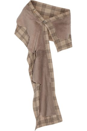 KARL DONOGHUE Toscana lambskin and wool scarf