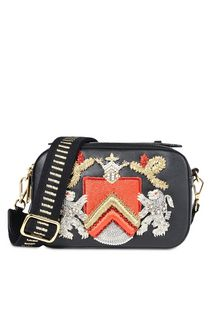 ALBERTA FERRETTI Bag with maxi embroidery Cross body bag D f