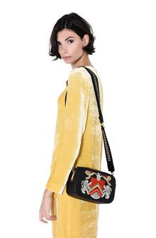 ALBERTA FERRETTI Bag with maxi embroidery Cross body bag D r