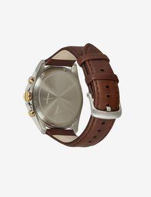 ARMANI EXCHANGE CHRONOGRAPH LEATHER STRAP WATCH Fashion Watch [*** pickupInStoreShippingNotGuaranteed_info ***] d