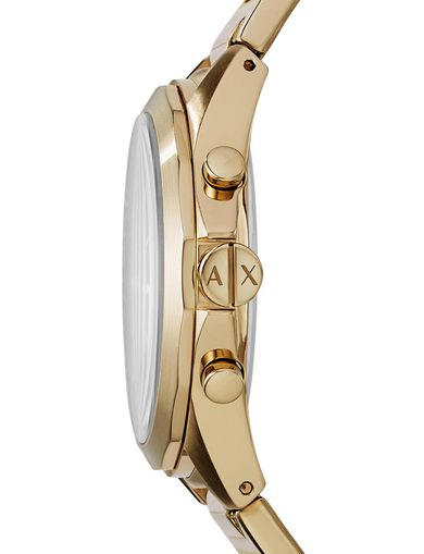 GOLD-TONE CHRONOGRAPH WATCH