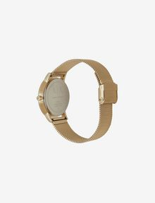 ARMANI EXCHANGE GOLD-TONE MESH BRACELET WATCH Watch Woman d