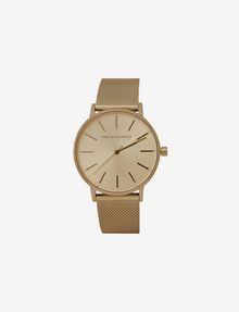 ARMANI EXCHANGE GOLD-TONE MESH BRACELET WATCH Fashion Watch [*** pickupInStoreShipping_info ***] f