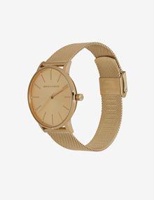 ARMANI EXCHANGE GOLD-TONE MESH BRACELET WATCH Fashion Watch [*** pickupInStoreShipping_info ***] r