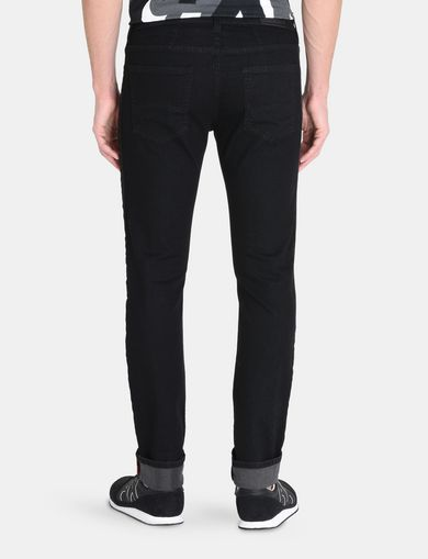 TONAL STRIPE SLIM-FIT JEAN