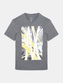ARMANI EXCHANGE AX SKYSCRAPERS T-SHIRT Logo T-shirt Man b