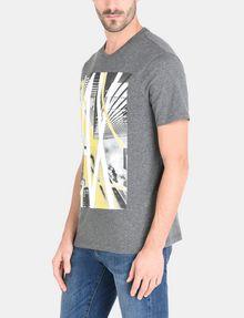 ARMANI EXCHANGE AX SKYSCRAPERS T-SHIRT Logo T-shirt Man d