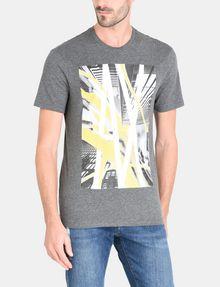 ARMANI EXCHANGE AX SKYSCRAPERS T-SHIRT Logo T-shirt Man f