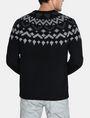 ARMANI EXCHANGE NORDIC INTARSIA CREWNECK SWEATER Pullover Man r