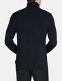 ARMANI EXCHANGE GEOMETRIC INTARSIA TURTLENECK SWEATER Pullover Man r