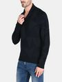 ARMANI EXCHANGE GEOMETRIC INTARSIA SHAWL-COLLAR SWEATER Pullover Man d