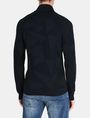 ARMANI EXCHANGE GEOMETRIC INTARSIA SHAWL-COLLAR SWEATER Pullover Man r