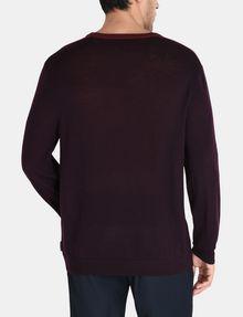 ARMANI EXCHANGE COLORBLOCK MERINO V-NECK SWEATER Pullover Man r