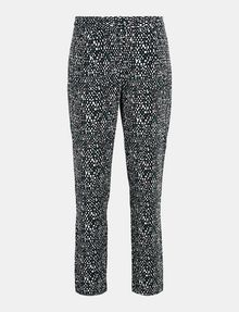 ARMANI EXCHANGE SLIM-FIT BLOCK GEO TROUSER Pant Woman b