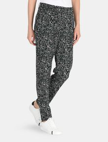 ARMANI EXCHANGE SLIM-FIT BLOCK GEO TROUSER Pant Woman d