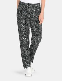 ARMANI EXCHANGE SLIM-FIT BLOCK GEO TROUSER Pant Woman f