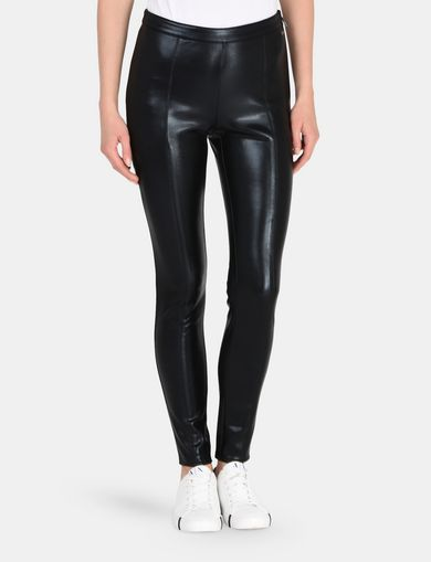 HIGH-SHINE SIDE-ZIP LEGGINGS