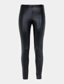 ARMANI EXCHANGE HIGH-SHINE SIDE-ZIP LEGGINGS Hose Damen b
