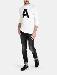 ARMANI EXCHANGE A|X INTARSIA SWEATER Pullover Man a