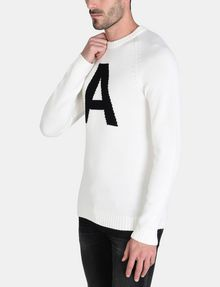 ARMANI EXCHANGE A|X INTARSIA SWEATER Pullover Man d