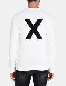 ARMANI EXCHANGE A|X INTARSIA SWEATER Pullover Man r
