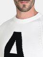 ARMANI EXCHANGE A|X INTARSIA SWEATER Pullover Man e