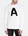 ARMANI EXCHANGE A|X INTARSIA SWEATER Pullover Man f