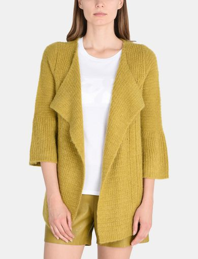 BELL SLEEVE SWEATER JACKET