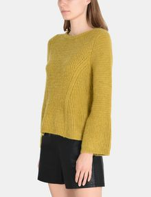 ARMANI EXCHANGE TEXTURED BELL-SLEEVE MOHAIR SWEATER Pullover Woman d