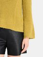 ARMANI EXCHANGE TEXTURED BELL-SLEEVE MOHAIR SWEATER Pullover Woman e