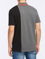 ARMANI EXCHANGE VERTICAL PIECED LOGO POLO SHORT SLEEVES POLO Man r