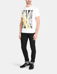 ARMANI EXCHANGE AX SKYSCRAPERS T-SHIRT Logo T-shirt Man a