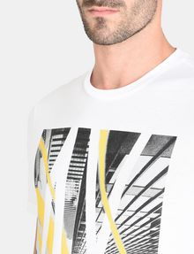 ARMANI EXCHANGE AX SKYSCRAPERS T-SHIRT Logo T-shirt Man e