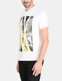 ARMANI EXCHANGE AX SKYSCRAPERS T-SHIRT Logo T-shirt Man d