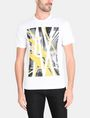 ARMANI EXCHANGE AX SKYSCRAPERS T-SHIRT Logo T-shirt Man f