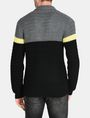 ARMANI EXCHANGE COLORBLOCK SHAWL COLLAR CARDIGAN Layering Man d